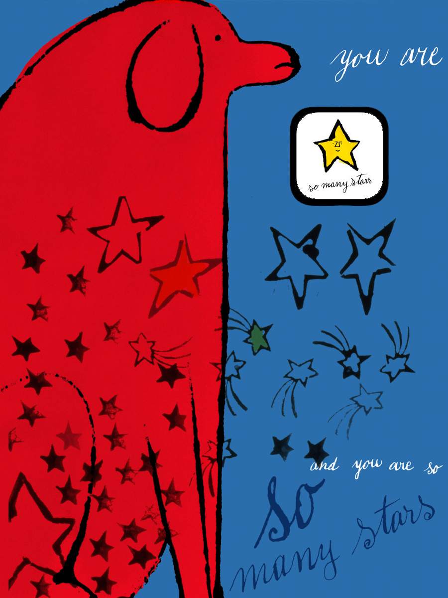 una adaptacin interactiva del libro para nios so many stars de andy warhol todos los dibujos son de la mano de andy warhol pertenecen a una serie que